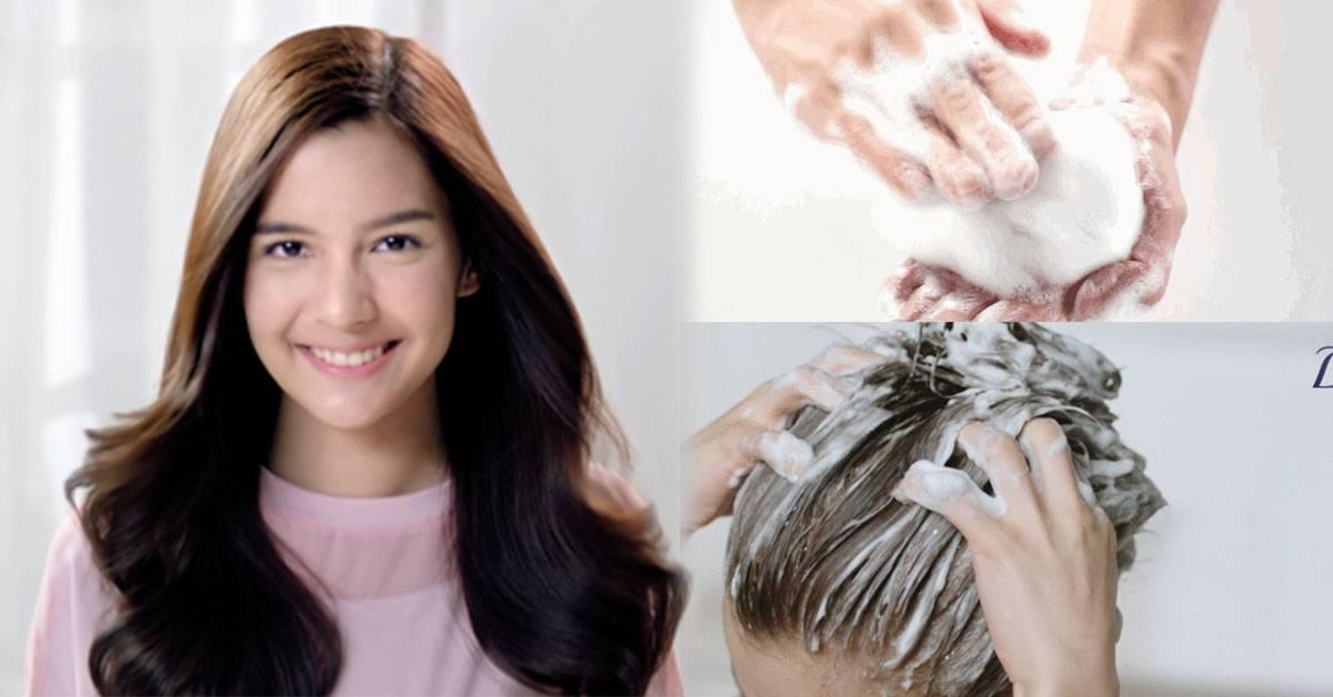 教你【5个洗头护发小妙招】每天一分钟,长头发也很容易打理!图片