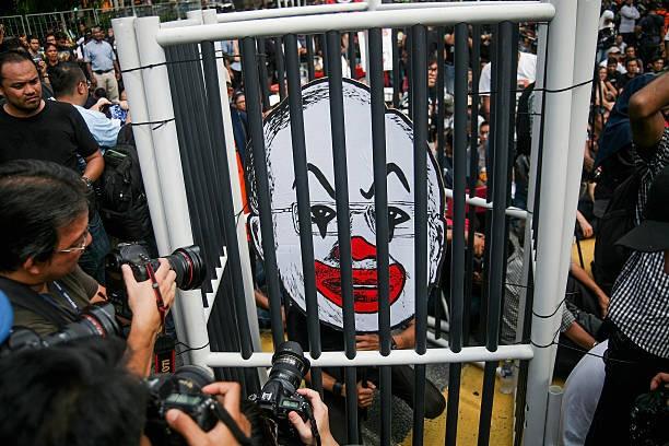 Image result for najib razak jail
