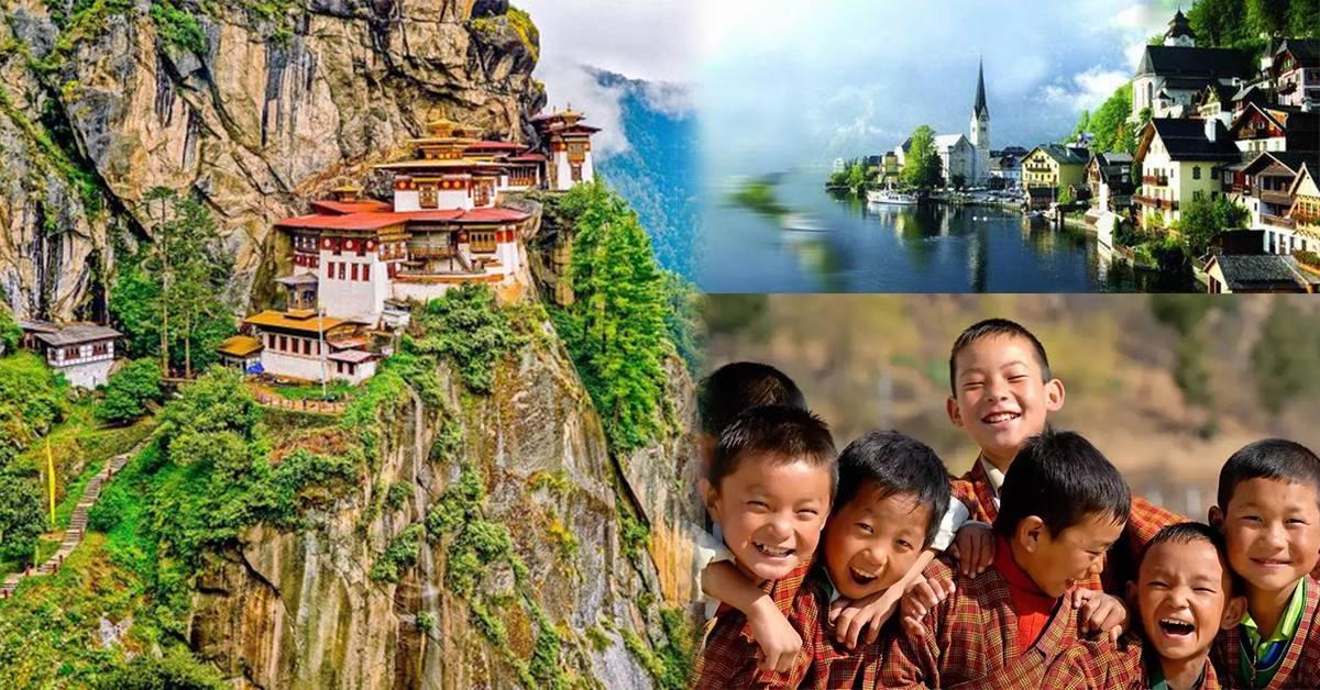它是世界最快乐国家!盘点8个关于不丹的奇事!世界上最危险的机场之一就在这里!