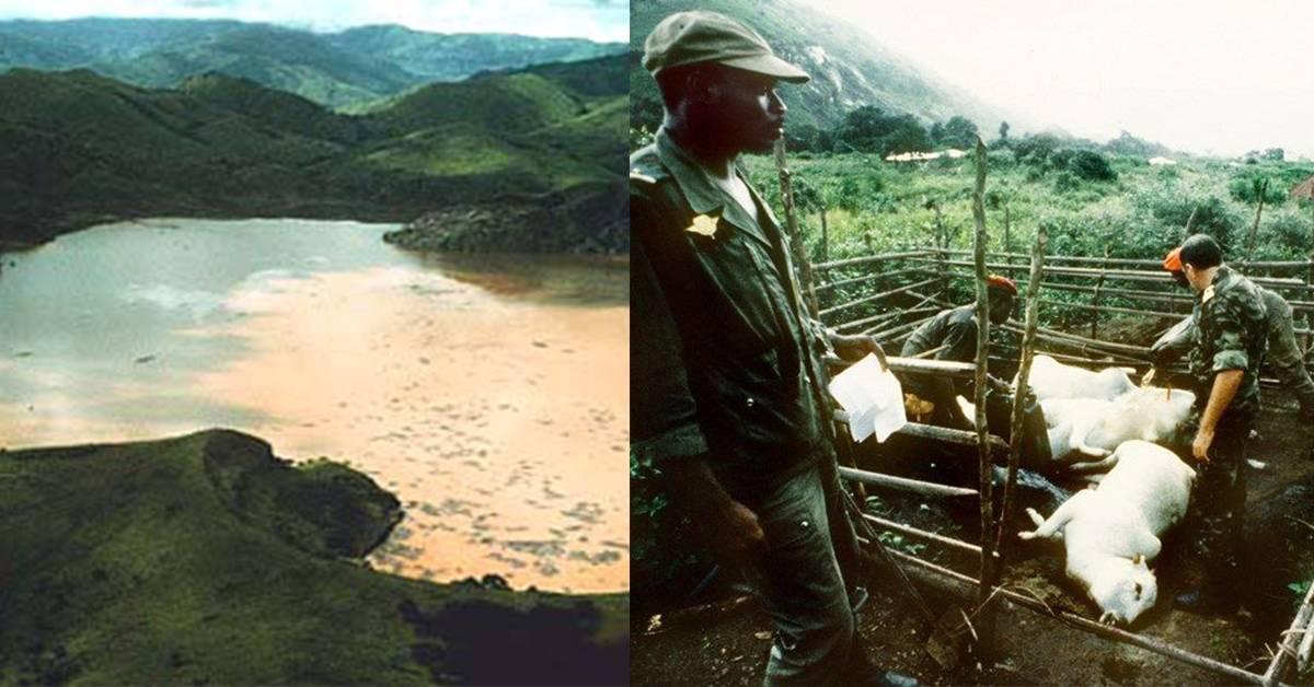 恐怖杀人湖是上天的诅咒?一夜之间,周围村庄大约1,700村民及3,000只家畜惨遭灭村!