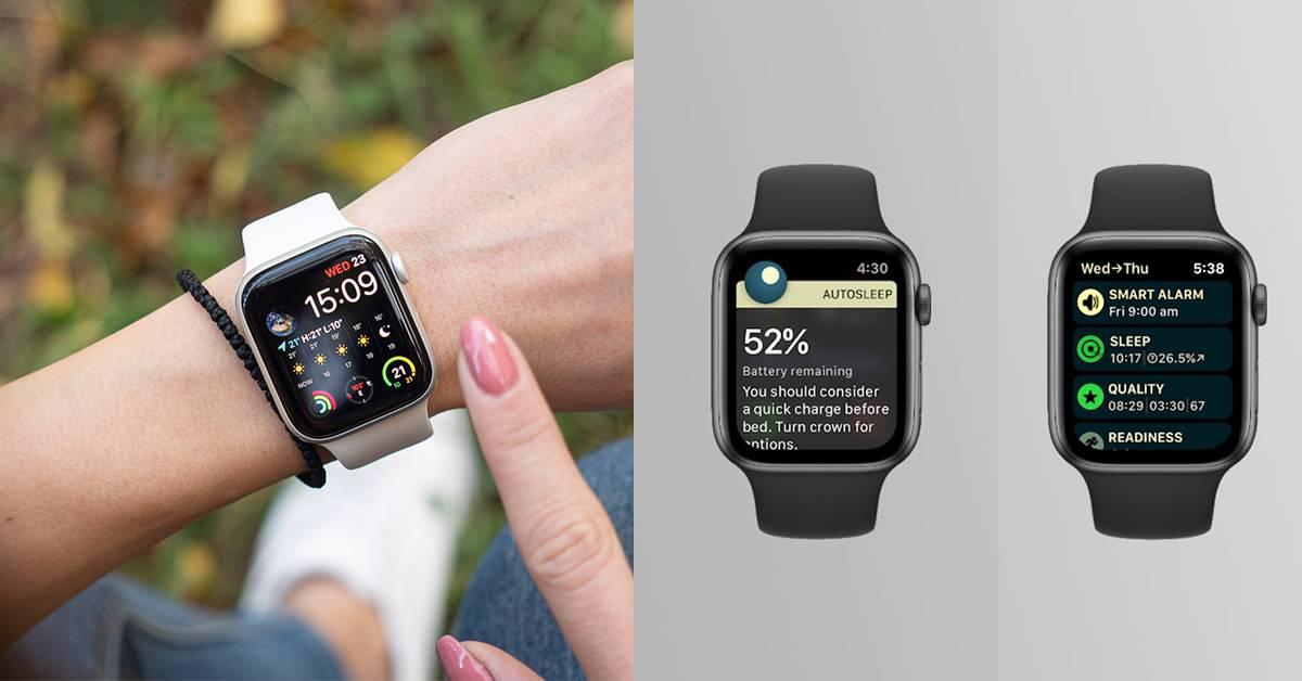 Apple Watch新增AutoSleep充电提醒及智能闹钟功能!将根据睡眠深度唤醒用户!
