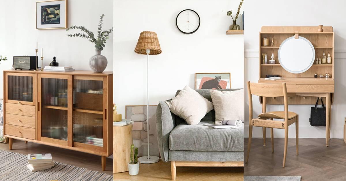 盘点5家日系北欧风的木色家居!让自己的家level up,满满的异国风味!