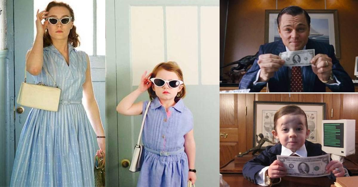 女儿神还原奥斯卡电影片段!搞笑又呆萌的女娃根本想骗人家生女儿!