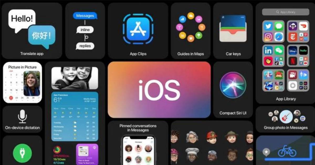 Apple iOS 14系统8个新功能!新增画中画功能!手机更化身成汽车钥匙!