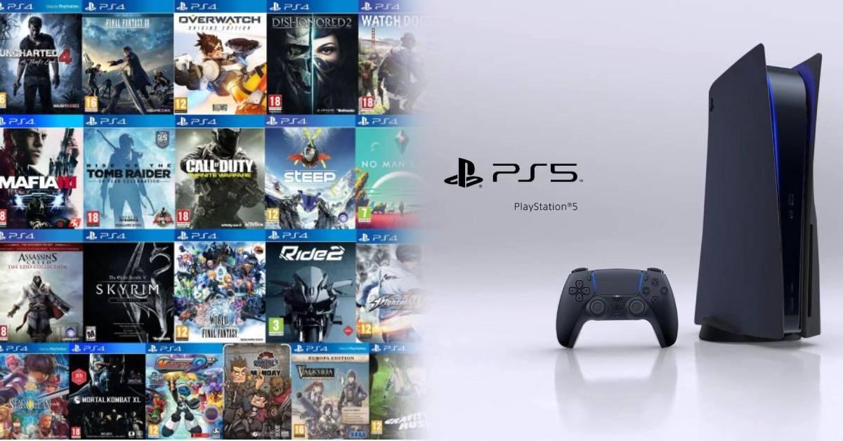 SONY宣布PS5不向下兼容PS1-3的游戏!但保证能够兼容99% PS4游戏!