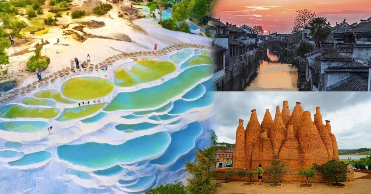 """去云南旅游绝对不可错过的8个小众景点!不用去土耳其,这里就有绝美""""棉花堡""""!"""