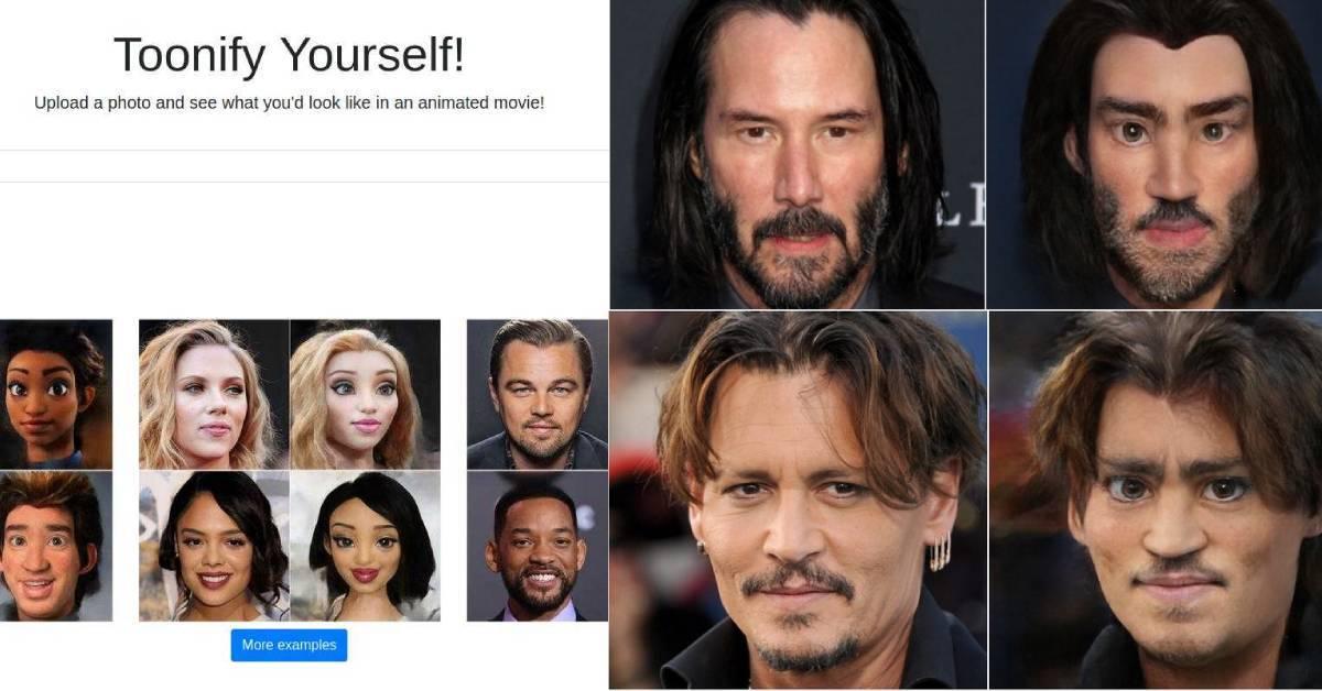 超逼真动漫形象!Toonify yourself AI工具只需一键,即可生成动漫照片!