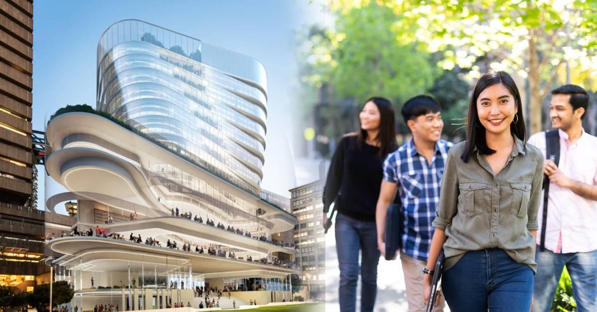 最佳澳洲升学学府!一篇看懂悉尼科技大学(UTS)升学的5大好处!和X-Men男主角成为校友吧!