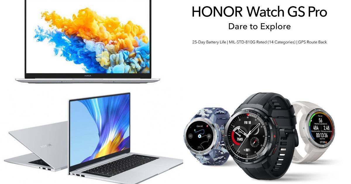 HONOR MagicBook Pro和 HONOR Watch GS Pro将于10月6日正式在大马推出!