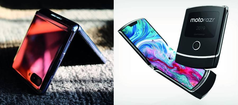 超薄可折式UTC玻璃实力大比拼!Galaxy Z Flip VS Motorola Razr哪个更耐摔?!