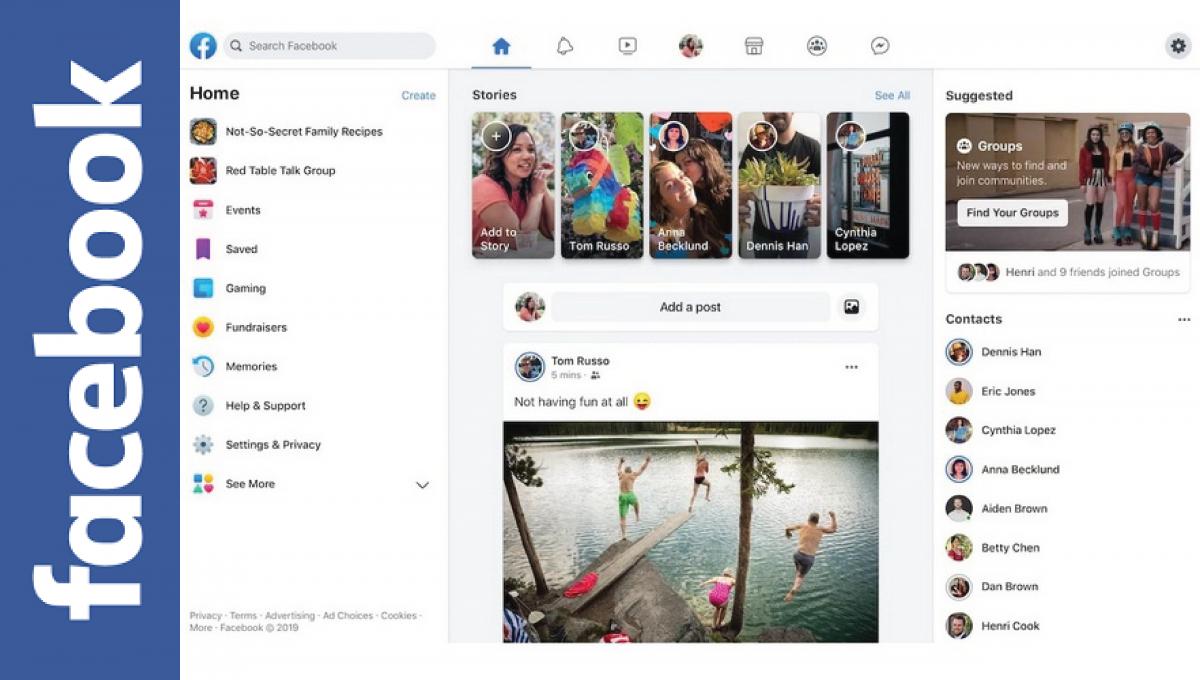 Facebook全球开放全新页面!新模式成未来十年页面基础!