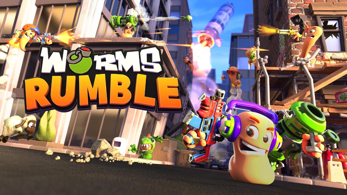 《Worms Rumble》即将登陆PS4、PS5及PC平台!全新玩法还能够吃鸡?!