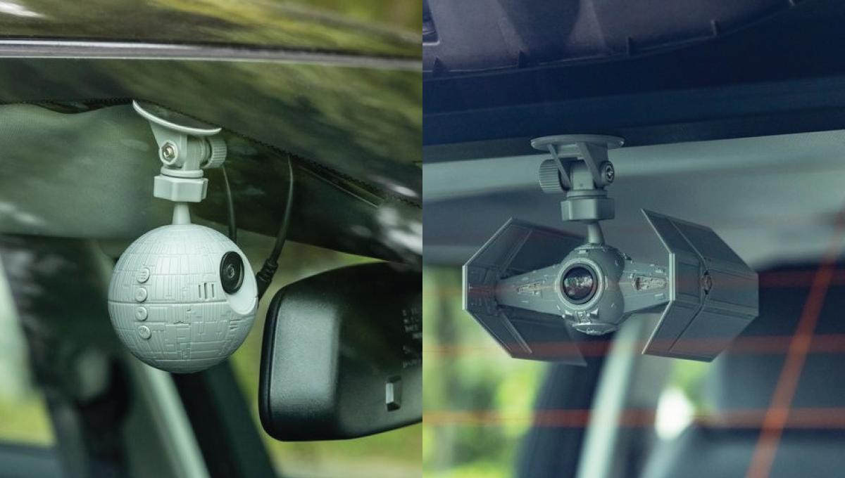 《星际大战》版行车记录器!酷炫星际战斗机外形支持144°广角镜头!