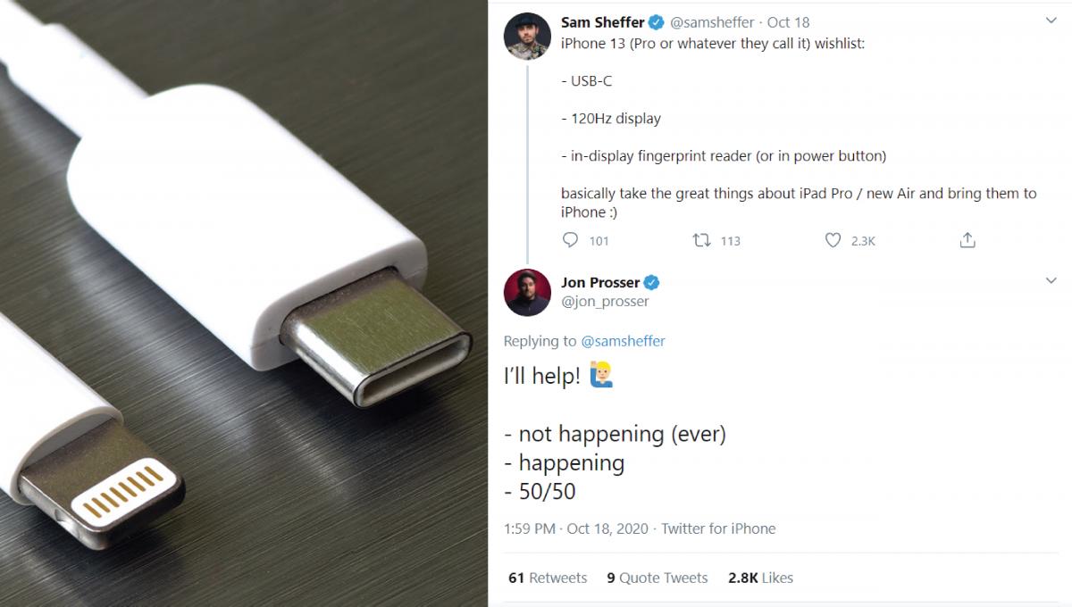 iPhone永远不会改为Type-C接口?!苹果2021年直接推出无充电孔iPhone?