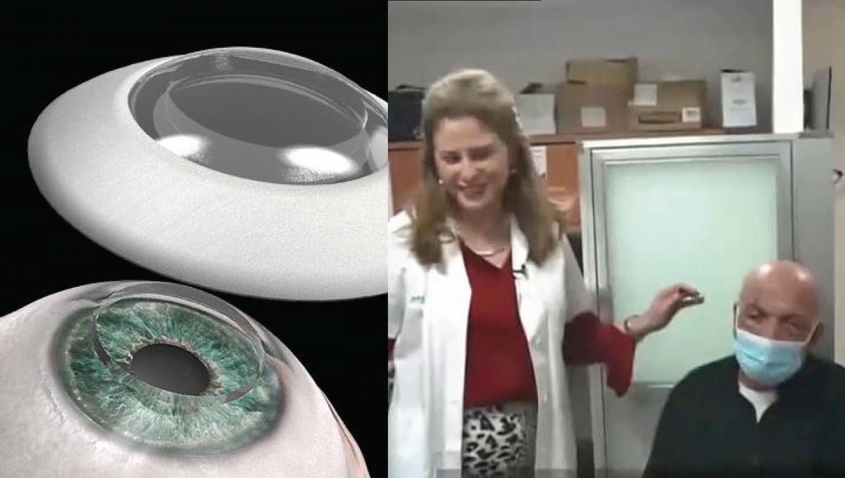 男子失明近10年终重见光明!全球首宗人造眼角膜移植成功!