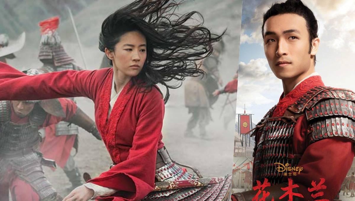 《花木兰》刘亦菲和新角色竟然有吻戏!最后因为中国不喜欢,被删了!