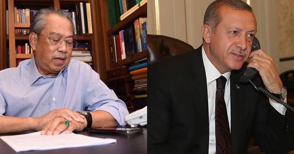 首相贴文揭露大马将与土耳其合作研发疫苗!同时加强与土耳其在各领域的双边关系!