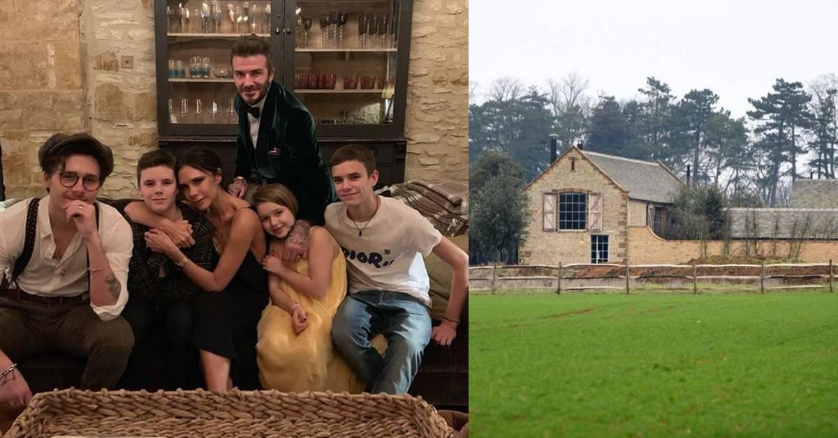David Beckham担心家人安危!3221万乡间豪宅盖逃生密道!