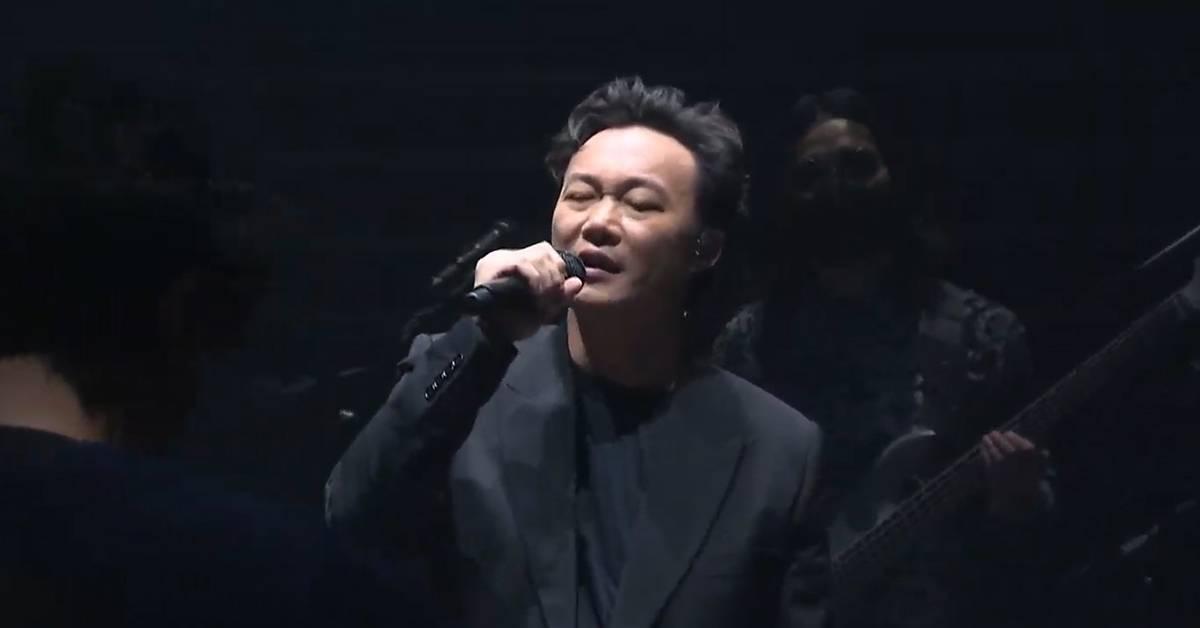 红馆疫情后的第一场Show!陈奕迅唱《我们万岁》忘词大笑!