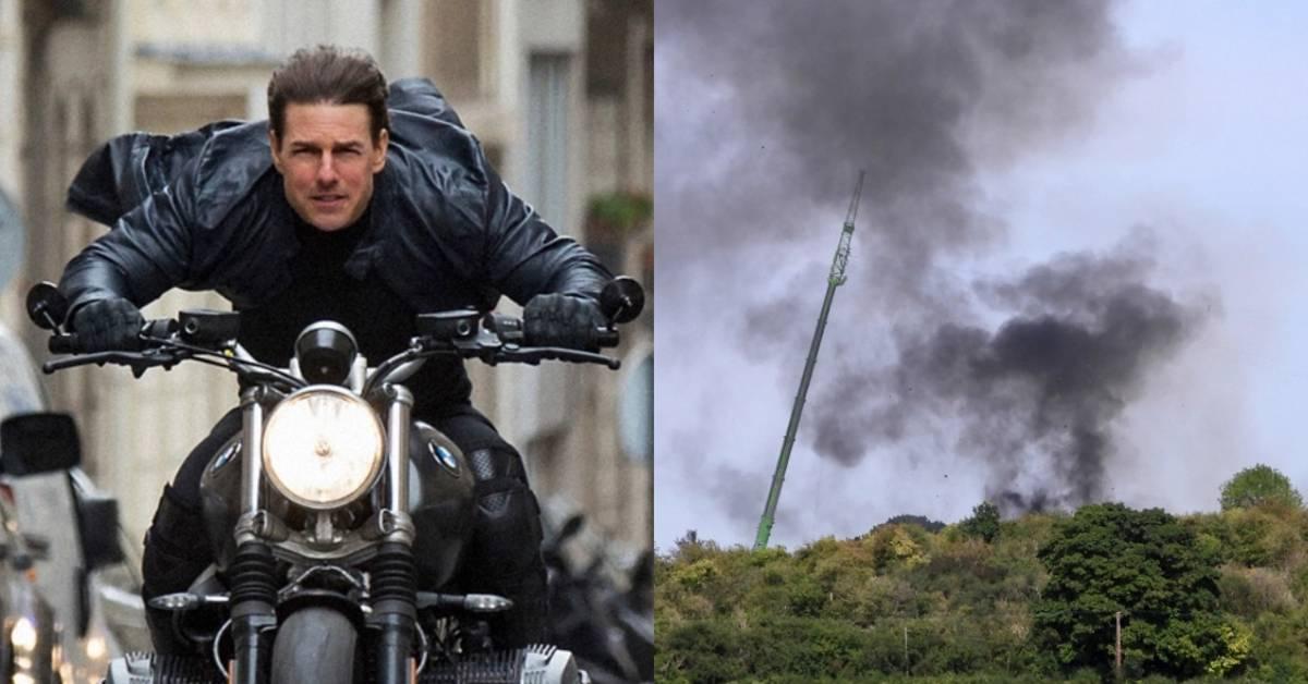 《不可能的任务7》发生特技意外,片场失火!损失1095万,汤哥气疯了!