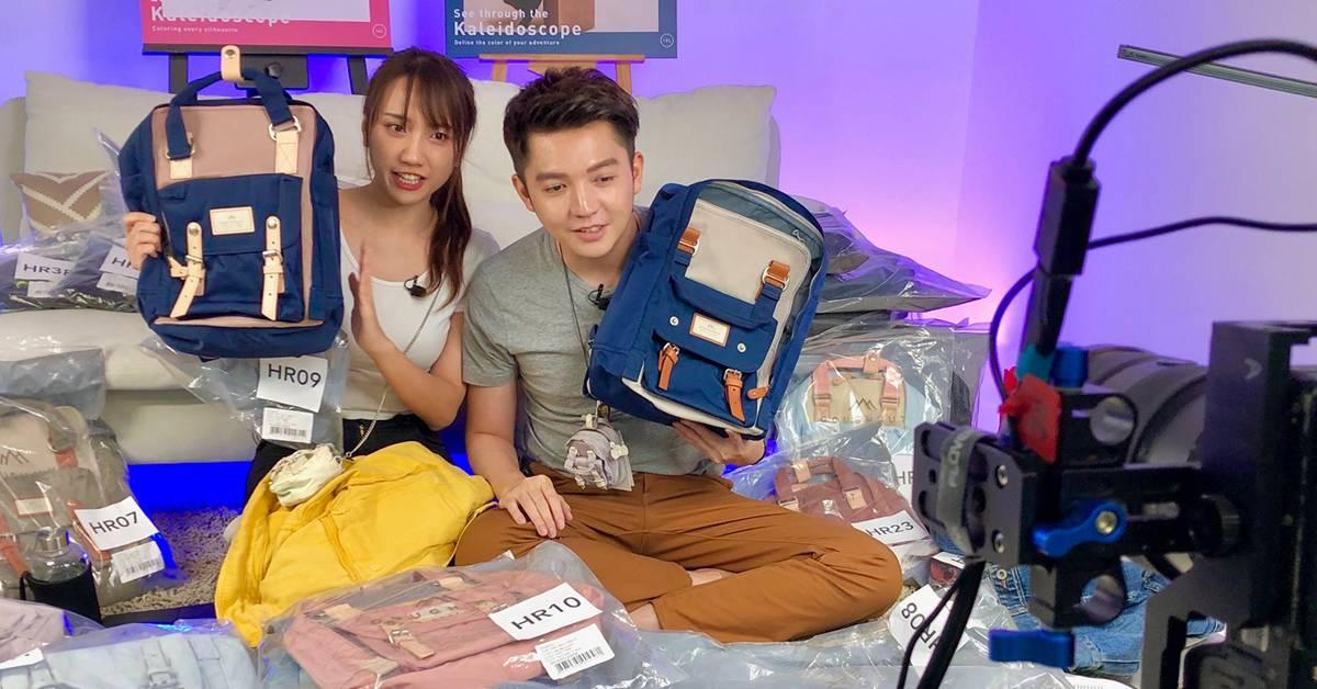 朱浩仁转当带货直播达人!2小时售出150个名牌背包!
