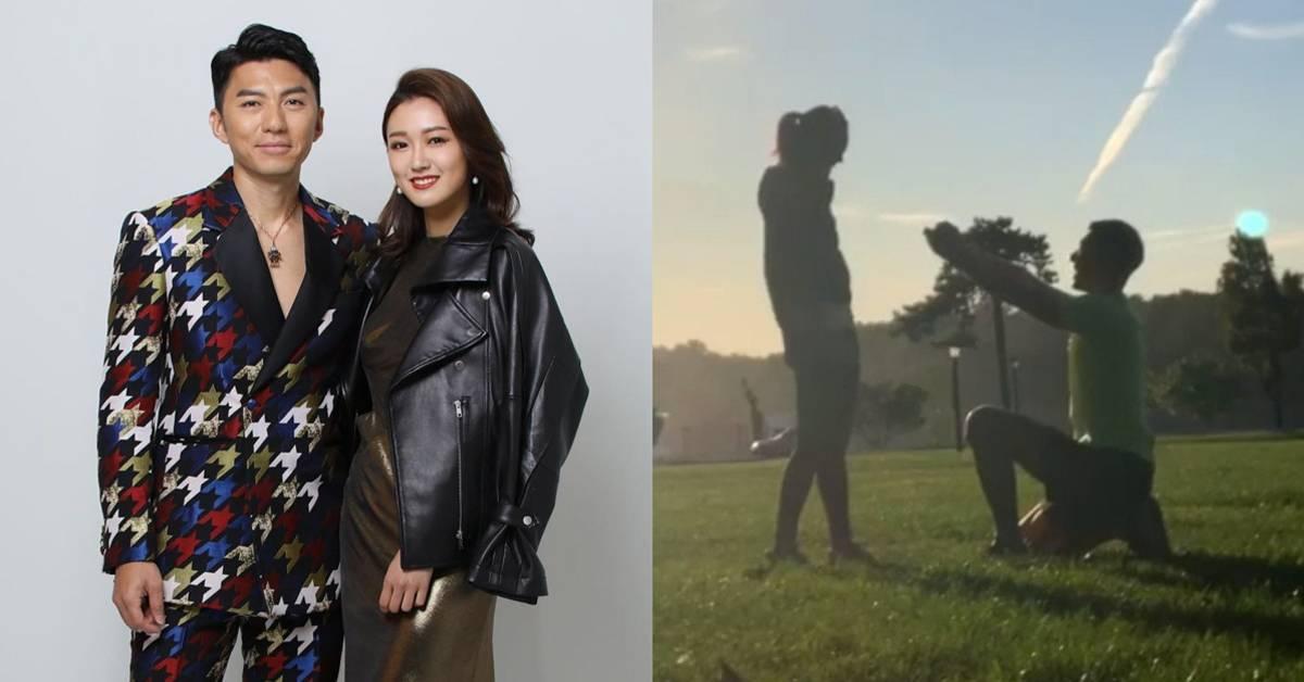 袁伟豪自爆去年求婚成功!决定明年才办婚礼!