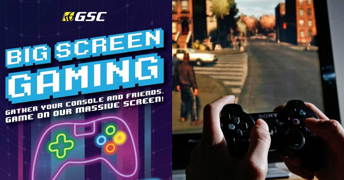 GSC让你在电影院打电子游戏!网友:现在变成网吧了!
