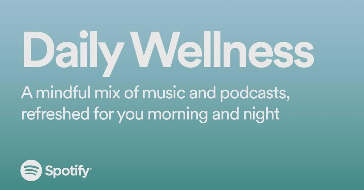 "Spotify 全新Playlist ""每日健康""登陆大马!让你抗疫期间保持精神健康!"