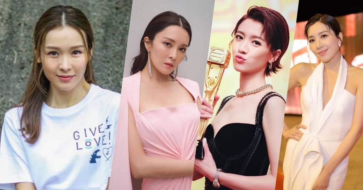 """TVB最新女势力排行榜出炉!李佳芯""""地位""""下降!"""