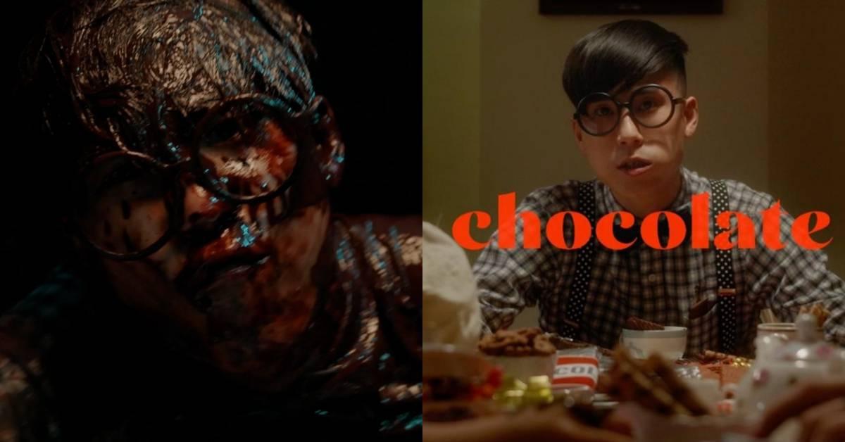 日马创作才子挑战浸泡巧克力浴缸!拍MV吃了2年份的巧克力分量!