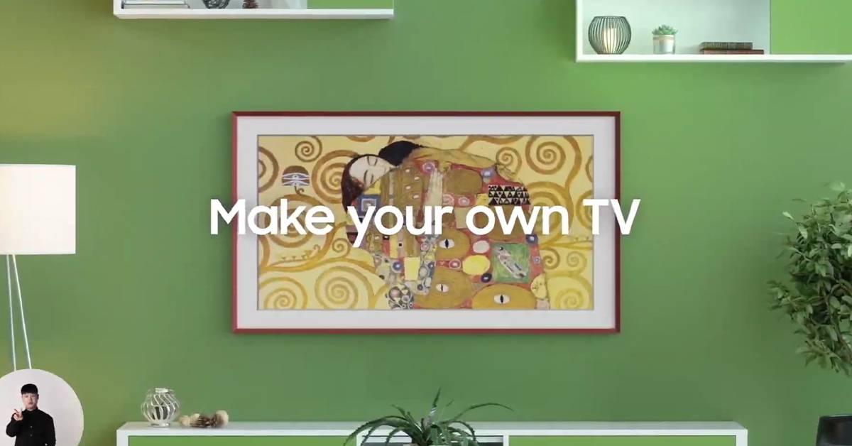 "Samsung推出多款""艺术""系列电视机!让你的家变成画廊版高贵!"