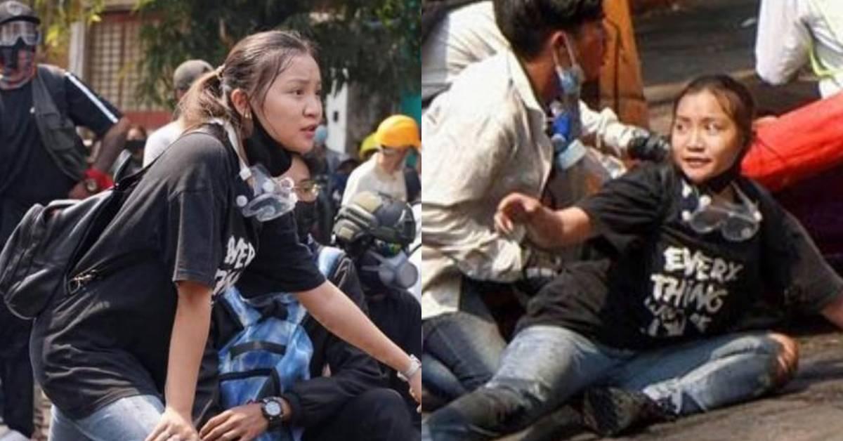【缅甸动乱】19岁华裔少女示威中被爆头身亡!生前写下遗言要捐赠器官!
