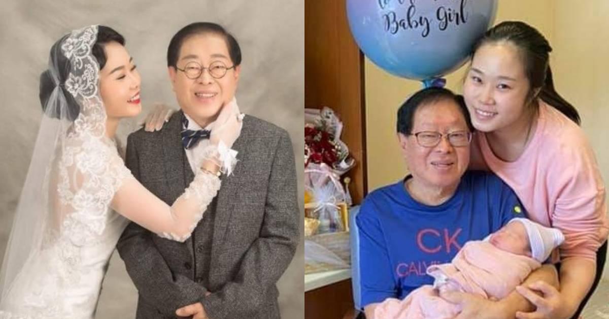 去年MCO时造人成功!31岁凯儿为73岁老公再生一个女儿!