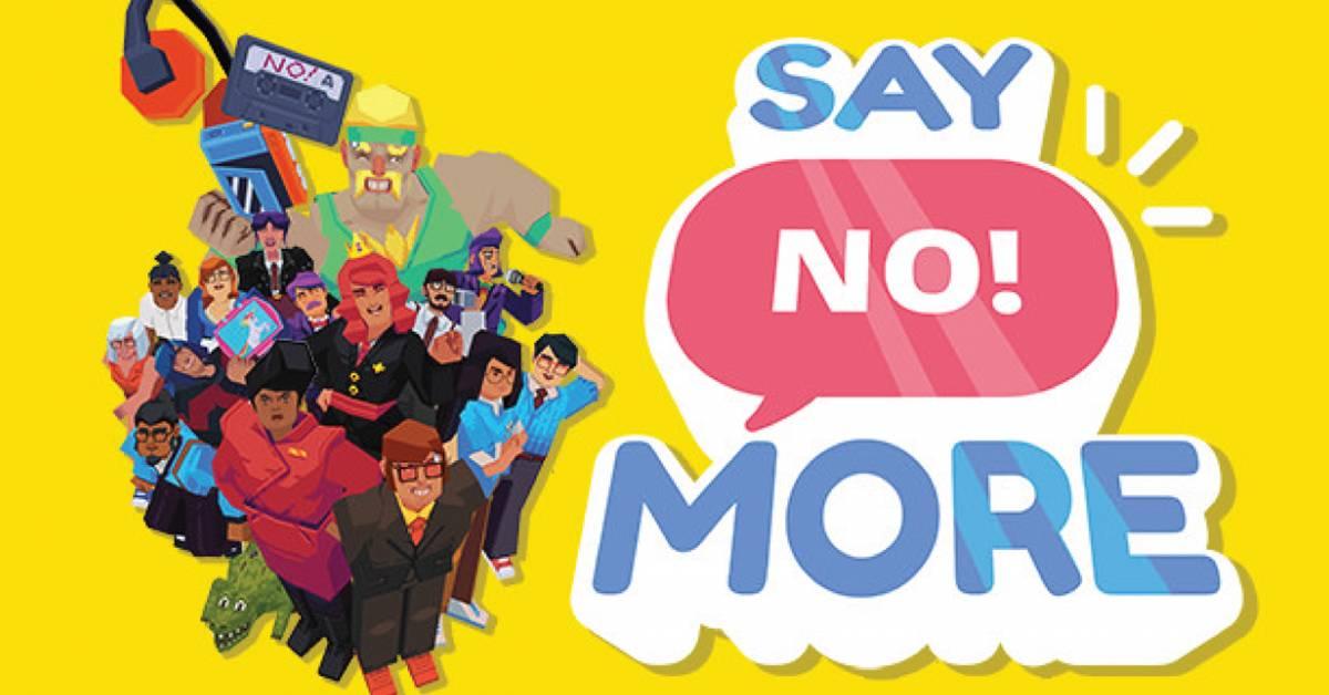 "全球首款""NPG""游戏《Say No!More》登场!登陆Steam教人勇敢说不?!"