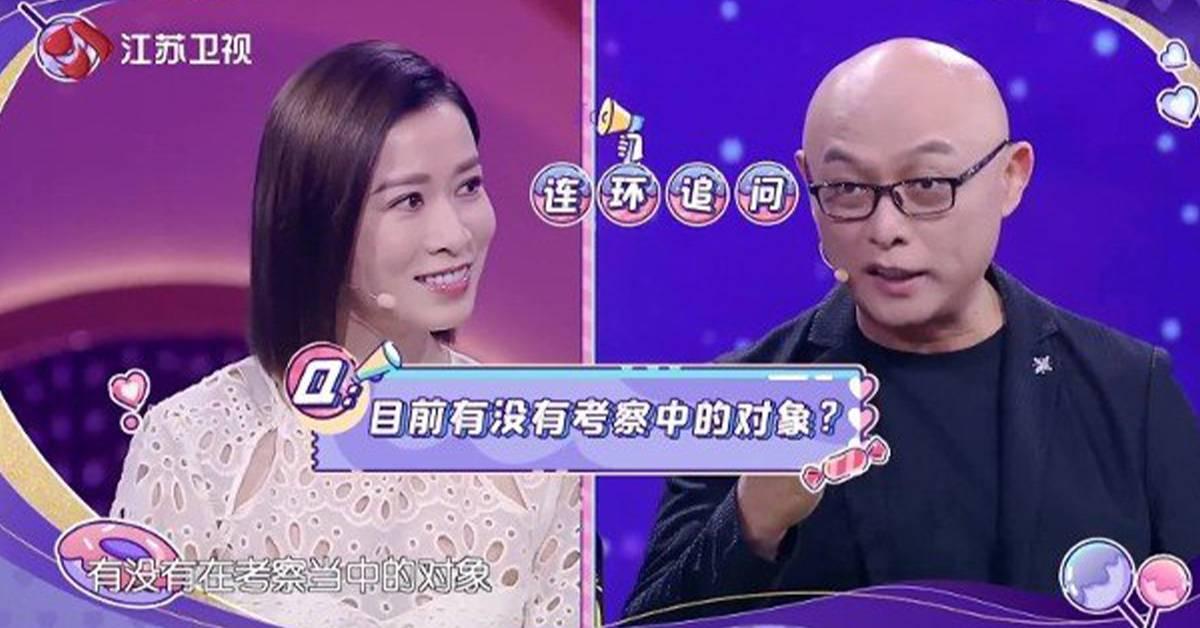 合作的男星中有理想型!46岁佘诗曼自爆差点结婚!