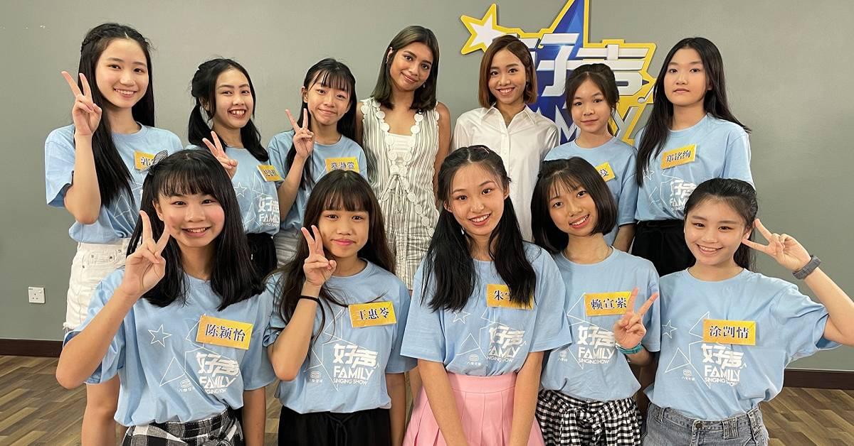 《好声Family》推出特别企划!李佩玲、陈颖恩担任小老师!