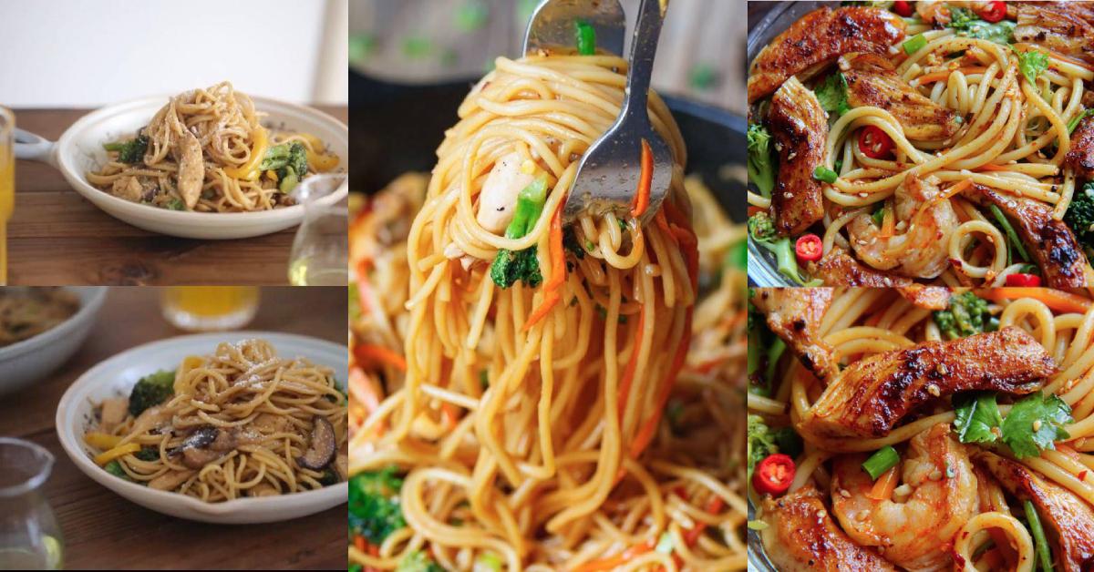 【4道中式意大利面煮法】中西合璧新吃法新口味!Spaghetti控不容错过!