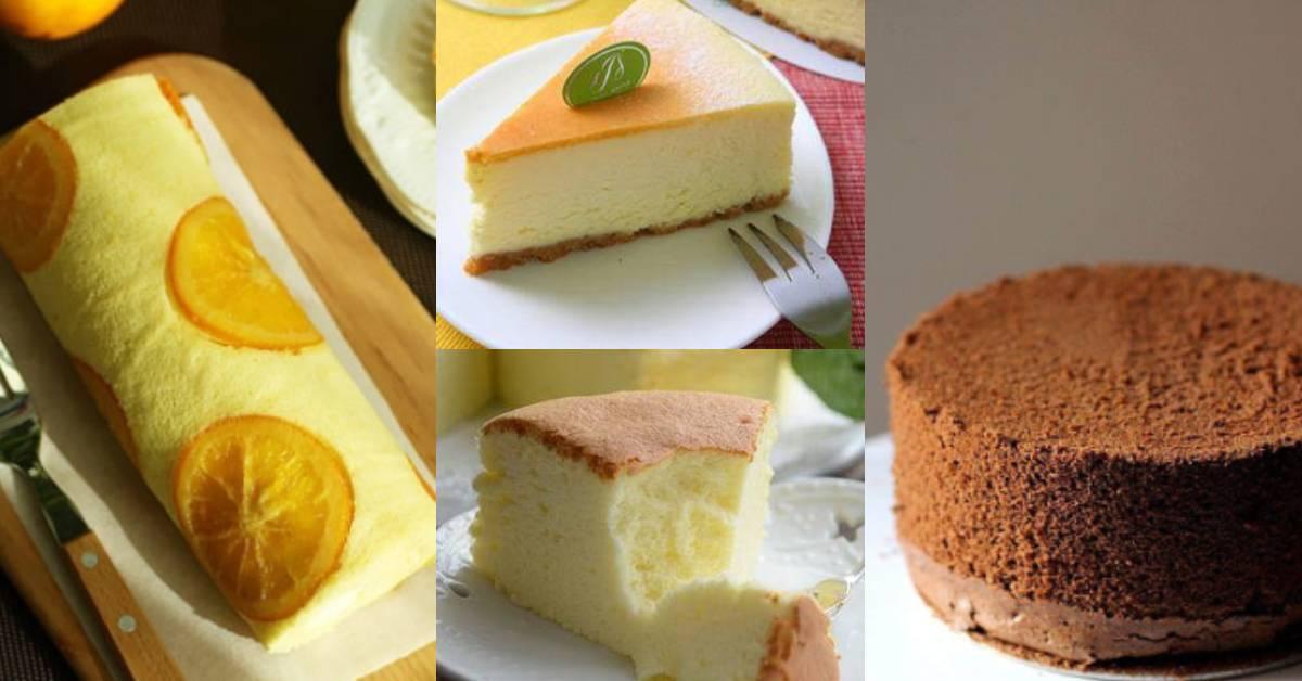 【4款免烤箱蒸蛋糕】家里没有烤炉?教你用蒸的就能蒸出超蓬松的芝士蛋糕!