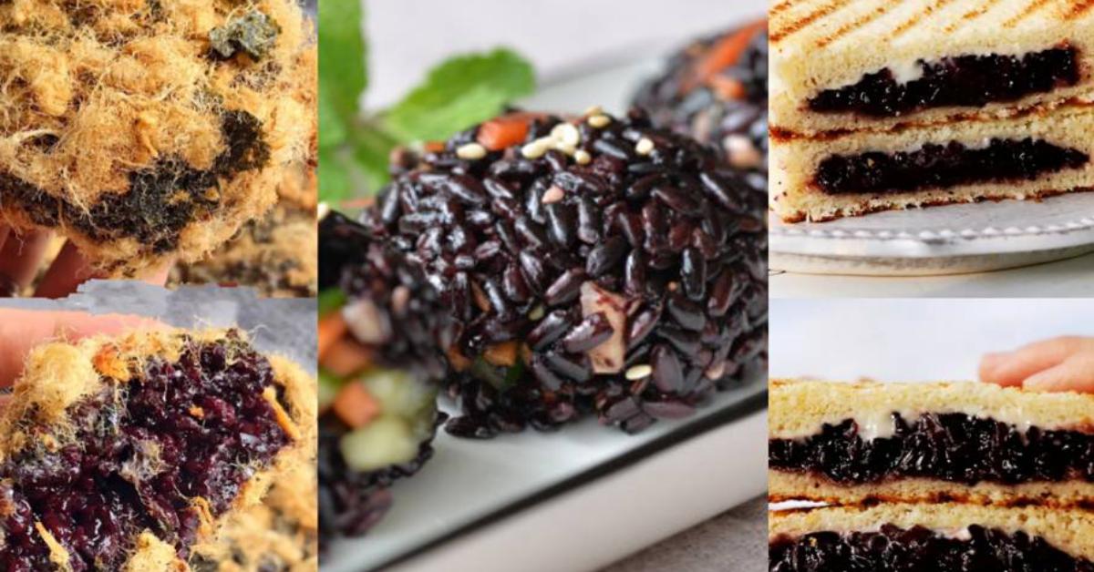 【盘点黑糯米隐藏吃法】黑糯米原来可以拿来做寿司,隐藏食谱学起来!