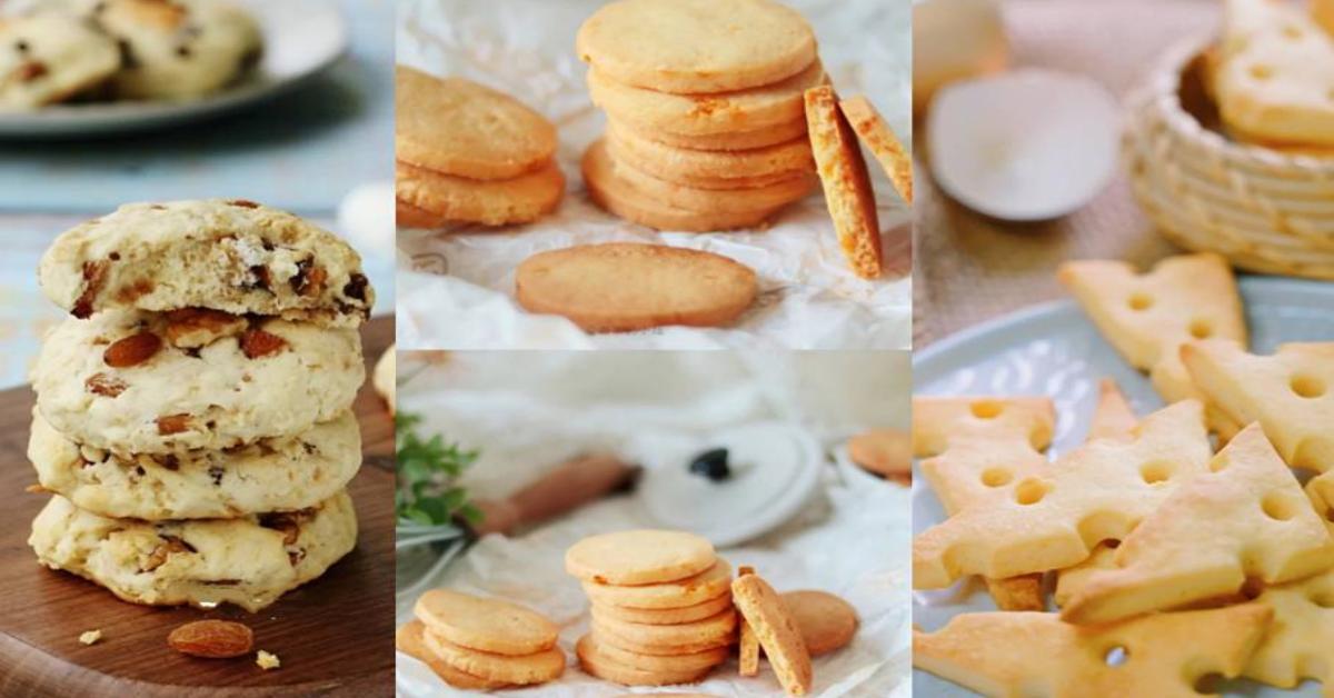 【5种芝士曲奇做法】芝士控必备款,解馋曲奇饼干轻松GET起来!