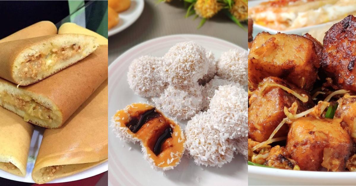 【4种大马道地小吃食谱】椰丝球曼煎糕,炒啦啦煎菜头粿!