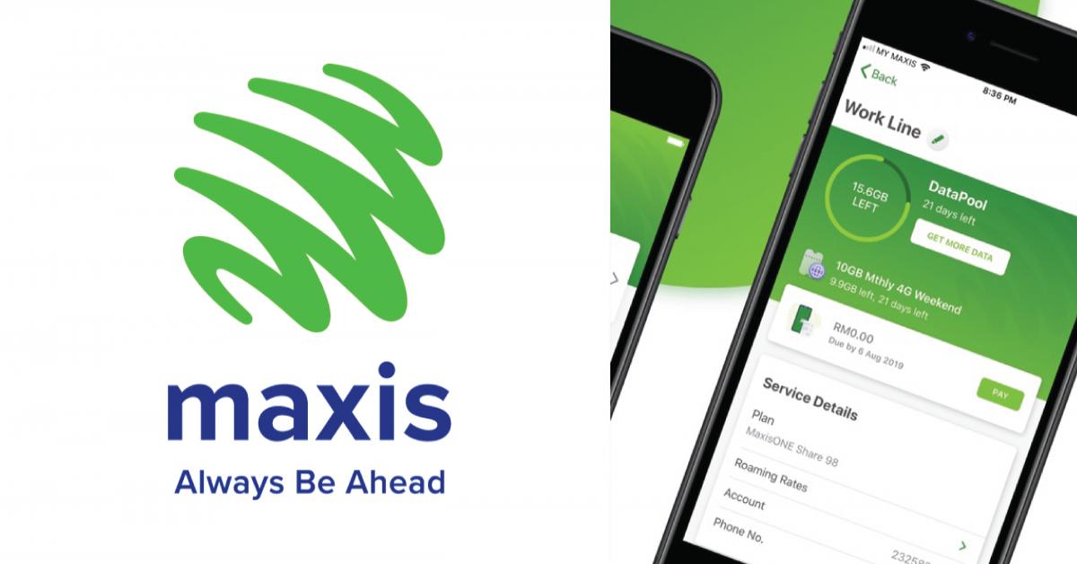 Maxis发善心为用户升级配套!6月4日起最高每月增加40GB流量!