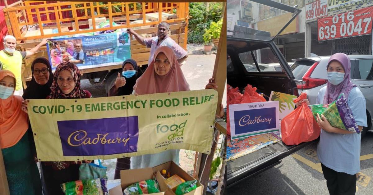 Cadbury Dairy Milk资助贫困家庭!减轻4000个B40低收入家庭的负担  !