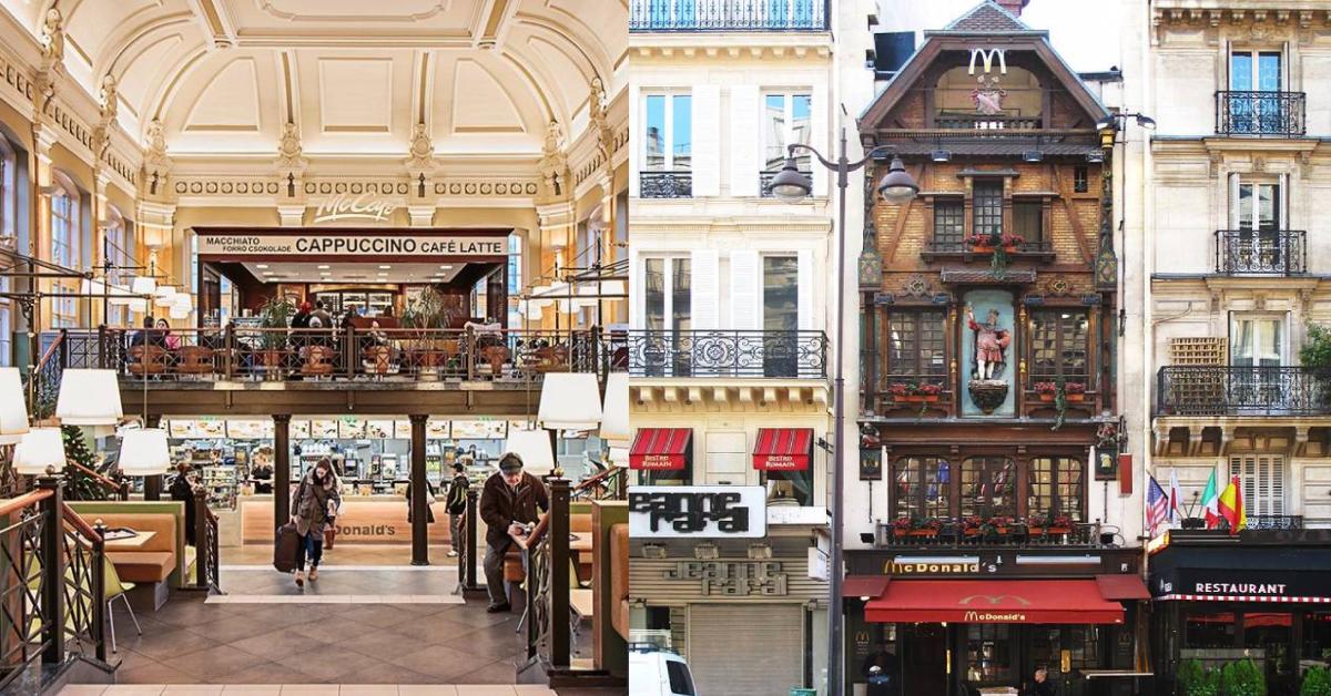 全球最具特色的Mcdonald's 分店!麦当劳控环游世界时必打卡圣地!