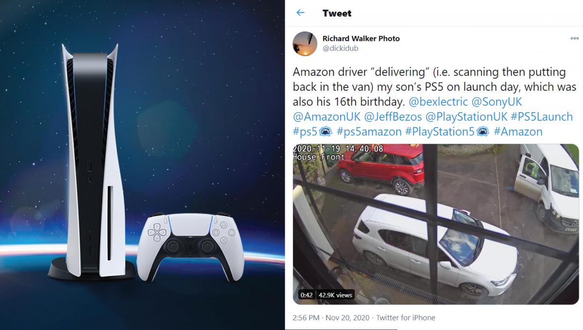 快递员私吞PS5被监控录下!生日礼物报销,仅获退款、礼券和道歉?!