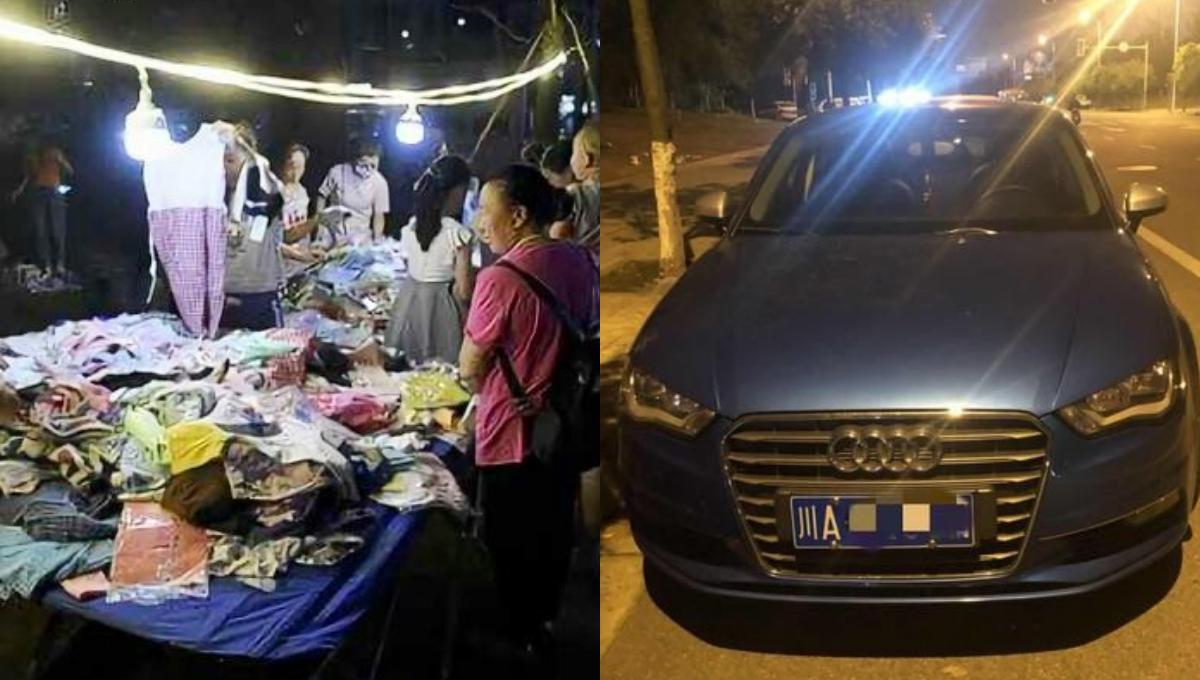 白天打工,晚上摆地摊日赚RM2K!90后女子520奖励自己买Audi!