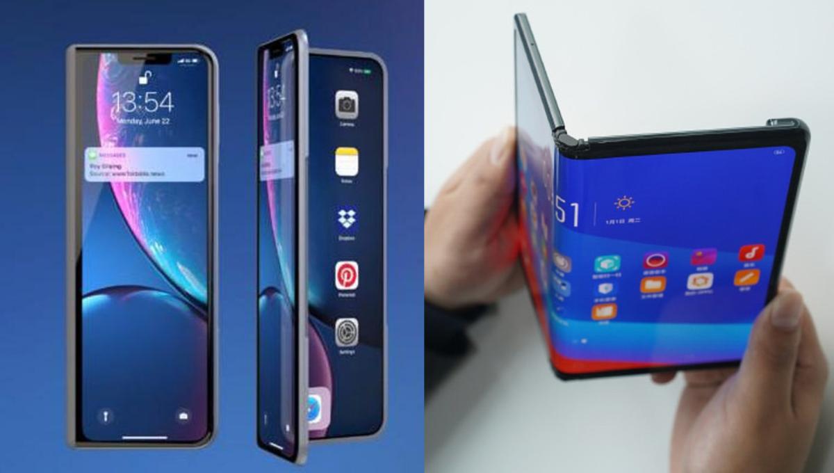 """苹果""""折叠iPhone""""专利曝光!玻璃内部切割凹槽实现屏幕弯曲!"""