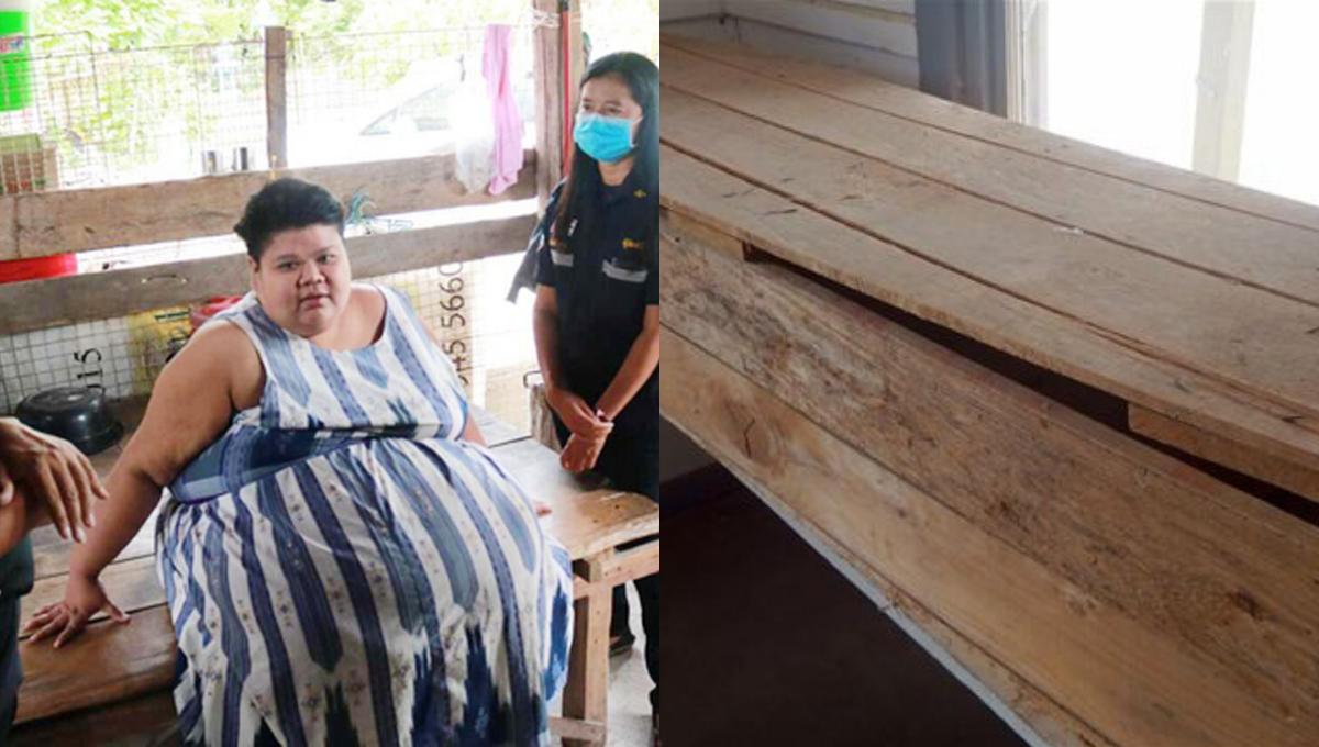 200kg患病女子担心死后增加家庭负担!求助订做特大号棺材!