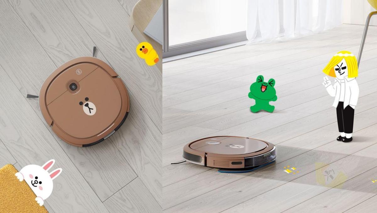史上最萌的扫地机器人!熊大扫地机器人Shopee买得到!售价RM1299!