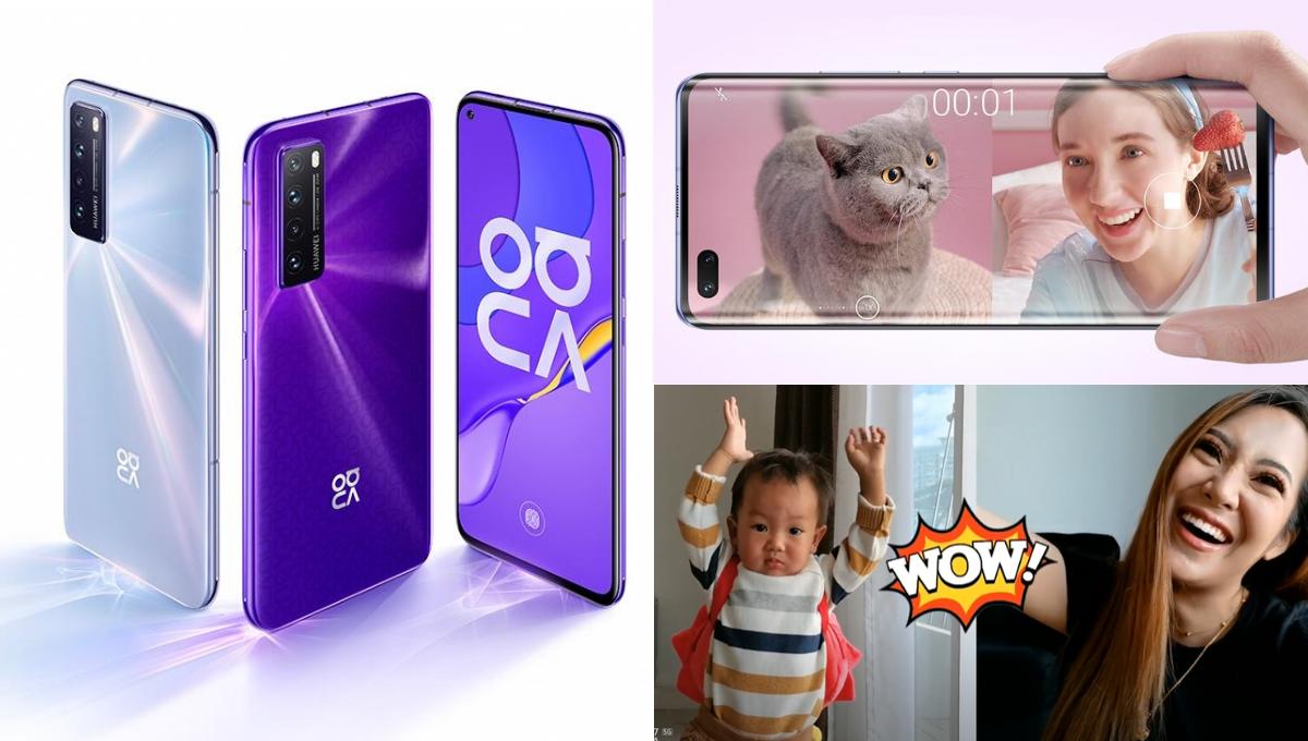 """最强拍Vlog功能!Huawei nova 7系列""""前后双景录像""""功能颠覆以往拍摄手法!"""